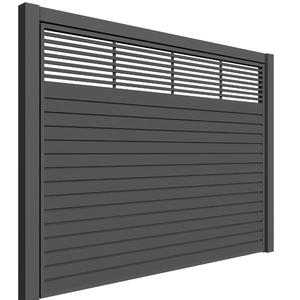 Portão de Aço Garagem Palmas Basculante 460x250cm Mega Portões