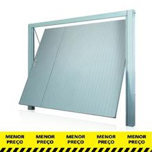 Portão de Garagem Basculante de Metal 2,2x2,42m Direito Mecal