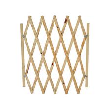 Portão Social Sanfonado de Madeira 1,4x0,98m  Home Wood