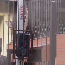 Poste Bifásico com Caixa 7Metros Postes Alves