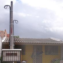 Poste com Caixa 5Metros Postes Alves