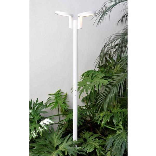 poste de jardim led 36w luz amarela alloy leroy merlin. Black Bedroom Furniture Sets. Home Design Ideas