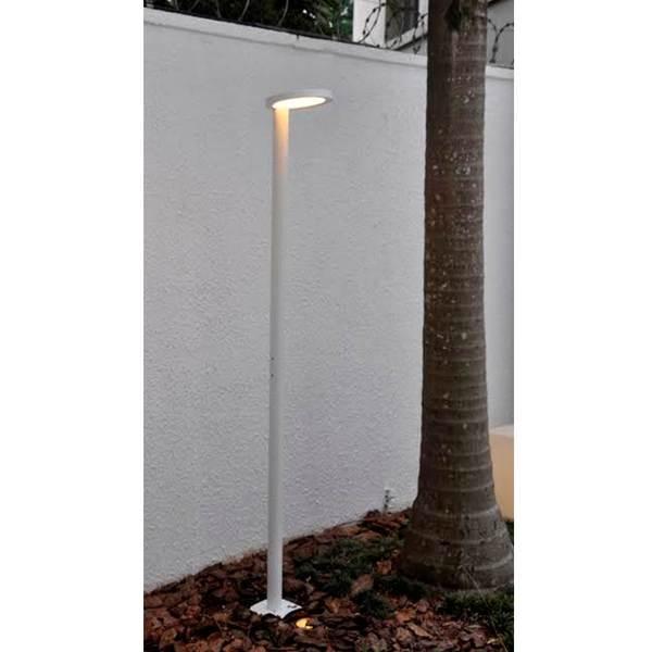 poste de jardim led 18w luz amarela alloy leroy merlin. Black Bedroom Furniture Sets. Home Design Ideas