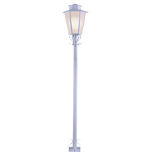 Poste de Jardim E27 para 1 Lâmpada 1.76m Branco Inspire