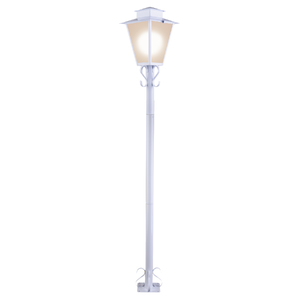 Poste de Jardim E27 para 1 Lâmpada 1.76m Ideal Iluminação