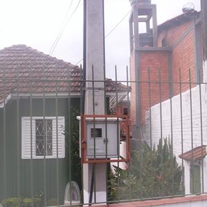 Poste Monofásico com Caixa 7Metros Postes Alves