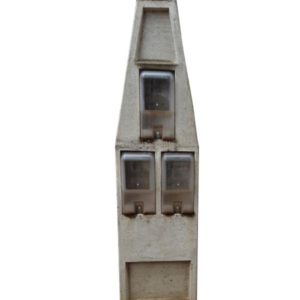 poste padr o 3 caixas bif sico 16 vrs concrefer leroy merlin. Black Bedroom Furniture Sets. Home Design Ideas