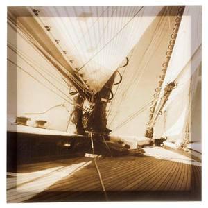 Pôster Canvas Ao Mar 40x40cm Importado