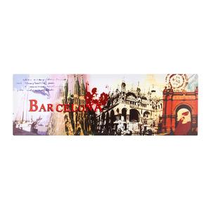 Pôster Canvas Cidade Barcelona 30x90cm Importado