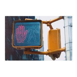 Pôster Canvas Cidade LED 30x45cm Importado