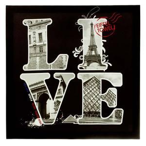 Pôster Canvas Live Paris 50x50cm Importado