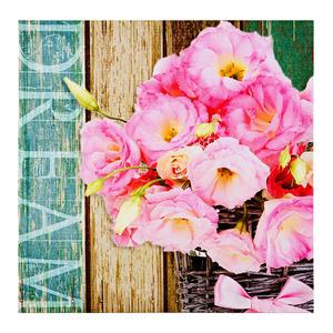 Pôster Canvas Rosas Dream 30x30cm