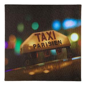 Pôster Canvas Taxi LED 30x30cm Importado