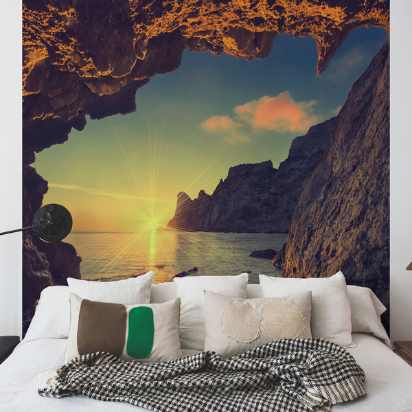 poster mural leroy merlin stunning papel de parede jungle. Black Bedroom Furniture Sets. Home Design Ideas