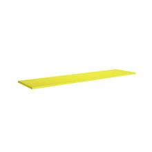 Prateleira 30x120x1,5cm Amarela Spaceo