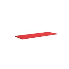 Prateleira 30x90x1,5cm Vermelha Spaceo
