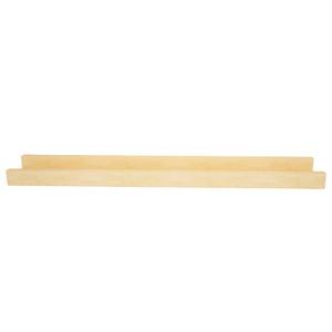 Prateleira Borda Reta para Quadros Pinus 60x9x4cm Wood