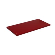Prateleira Borda Reta sem Suporte Madeira Vermelho 54x25cm Emklave