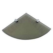 Prateleira Canto Bronze 20x20x2cm Hab