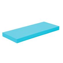 Prateleira Color Suporte invisivél Pinus/Duratex  60x25x4cm Azul