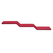 Prateleira com Suporte 120x19cm Madeira Vermelha Muve