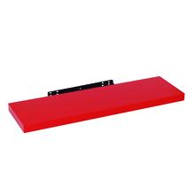 Prateleira com Suporte 80x23cm Madeira Vermelha