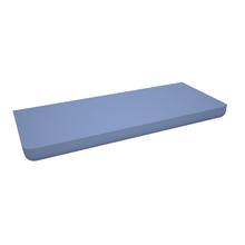 Prateleira com Suporte 90x25cm Madeira Azul Universal Muve