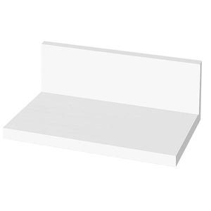 Prateleira de Banheiro MDF Branca 24,5x14,5x9 cm Gaam