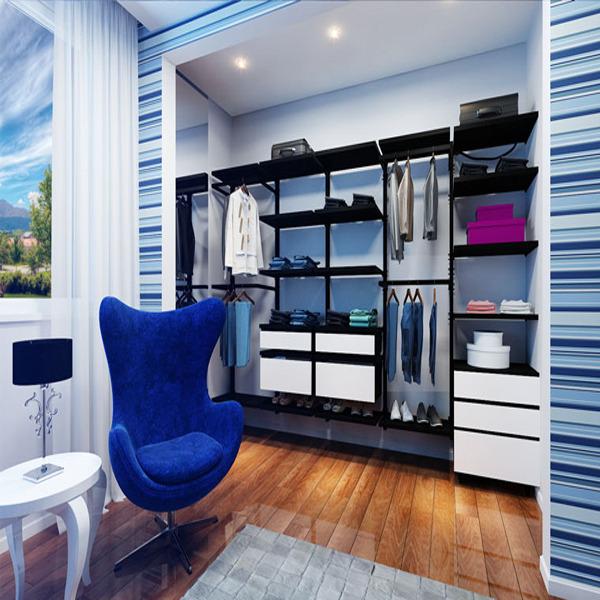 Closet Aramado Preto : Prateleira preto cm closet spaceo leroy merlin