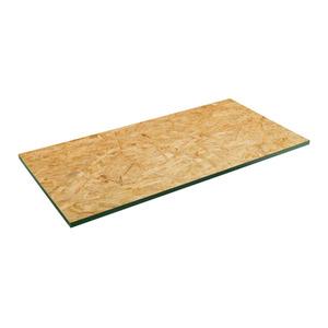 Prateleira sem Suporte OSB Borda Reta Ordenare Foil 80x30x1,5cm Natural