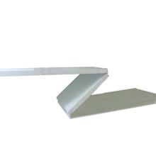 Prateleira Suporte Embutido MDP Borda Reta Utilfer Criar 110x25x1,8cm Branco
