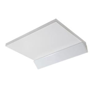Prateleira Suporte Invisível MDP Borda Reta Casa Fácil Fico Fone 30x23x1,5cm Branco