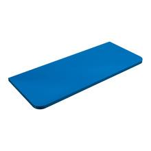 Prateleira Suporte Visível MDF Borda Reta Prat K Kids 60x25x1,5cm Azul