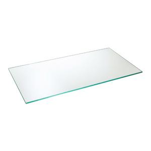 Prateleira Suporte Visível Vidro Borda Reta Hab 60x30x0,8cm Incolor
