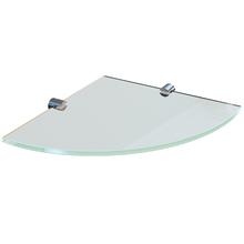 Prateleira Suporte Visível Vidro Spaceo 40x10x0,6 Incolor