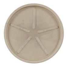 Prato Plástico Redondo Bege 40cm