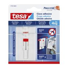 Prego Adesivo 4kg Plástico Branco tesa® Smart Mounting System