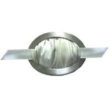 Presilha Oval Aço Escovado