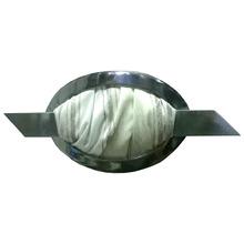 Presilha Oval Cromada