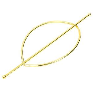 Presilha Oval Dourado  Couselo