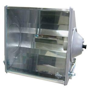 Projetor Alumínio 27x28cm Cinza Levilux