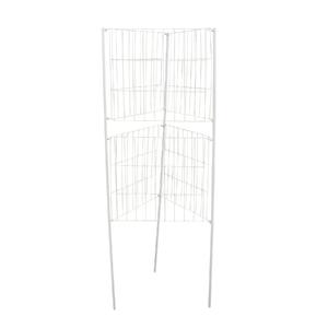 Protetor de Árvore de Aço Galvanizado Cinza 150x52cm