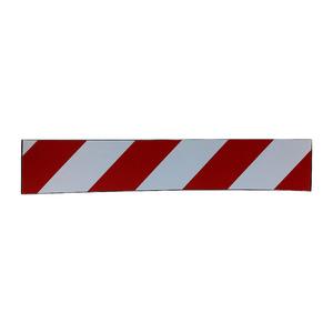 Protetor de Garagem Vermelho e Branco Importado