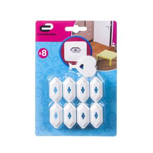 Protetor de Tomada com 1 chave 8 unidades Standers