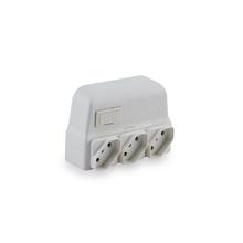 Protetor Elétrico 3Tomada(s) Branco Lexman