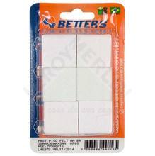 Protetor Feltro Branco 30mmx30mm Better's
