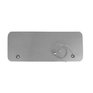 Protetor para porta de ve culo 55x20x1cm 1 unidade leroy - Porta carta igienica leroy merlin ...