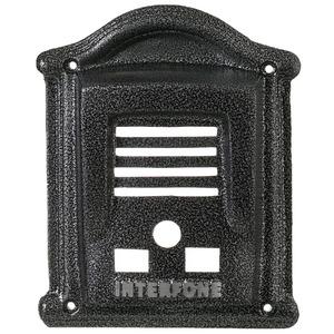 Protetor para Interfone Prata/Ouro Craqueado/Branco/Ouro Envelhecido/Prata Envelhecido 20x24cm Decorarte