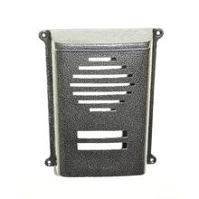 Protetor para Interfone Coletivo Sobrepor HDL 4 Pontos Prata Decorarte