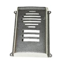 Protetor para Interfone Coletivo Sobrepor HDL 6 Pontos Prata Decorarte